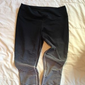 Nike Striped Dri Fit leggings (Large)